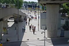walking towards Metropolis Festival 2010
