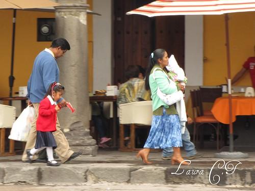 Familia en San Pedro
