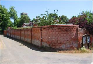 rectory wall