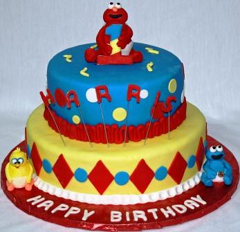 Magnificent Sesame Street Birthday Cake Jeanne Flickr Personalised Birthday Cards Paralily Jamesorg