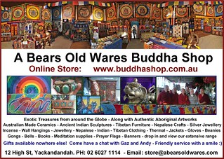 A Bears Old Wares Buddha Shop Yackandandah