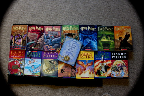 harry potter books :) | by lozikiki