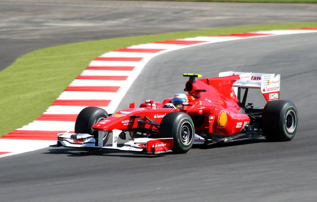 Fernando Alonso Ferrari F10 Ferrari Fernando Alonso Ferrar Flickr