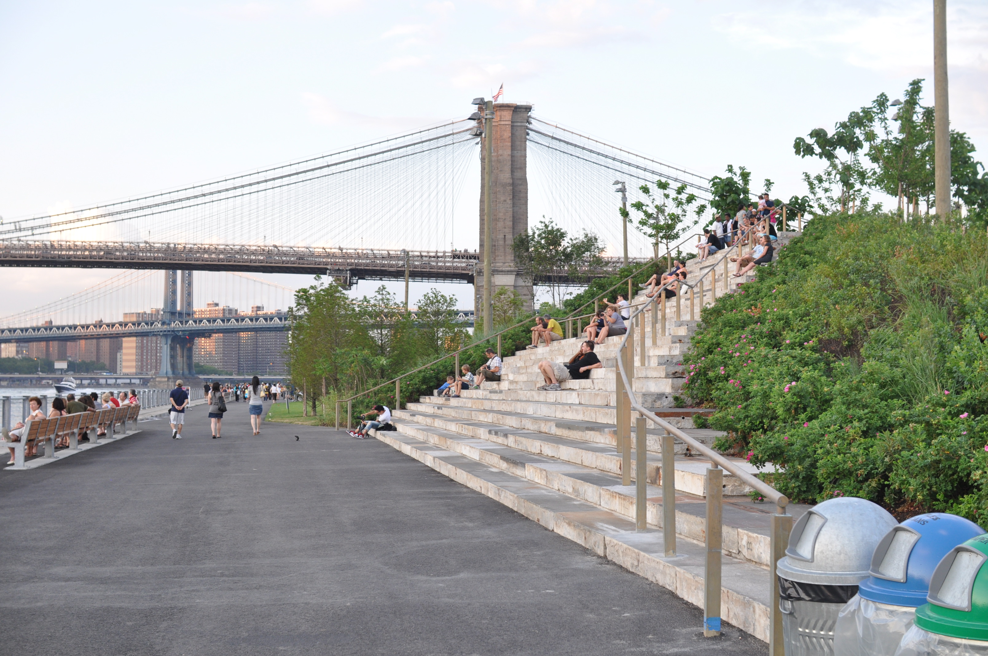 Pier 1 - Brooklyn Bridge Park