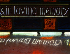 & in loving memory