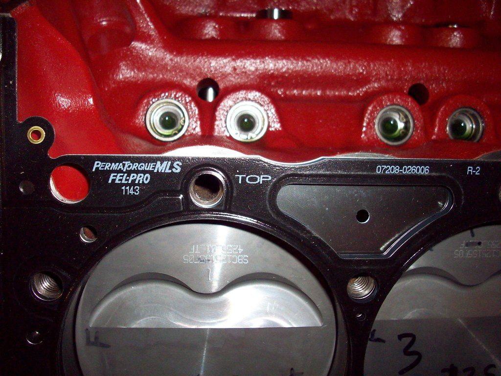 Sbc 406 Nitrous Pistons
