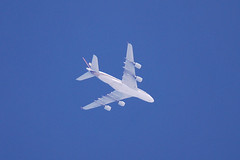 Singapore Airlines Airbus 380 (9V-SKG) at FL350 to Changi