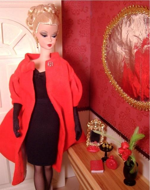 Cecilia in Red Flare w black #3