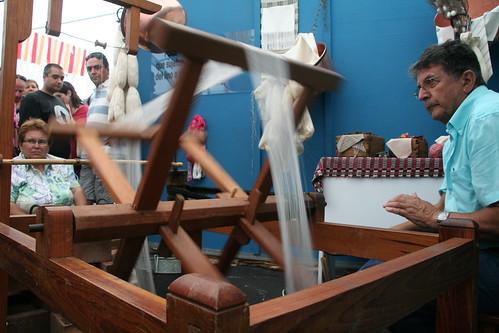 Feria de Artesanía. La seda