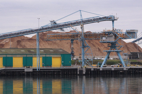 New Woodchip loader at Corio Quay North