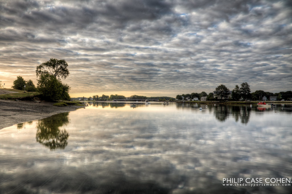 Reflecting on the Morning by Philip Case Cohen