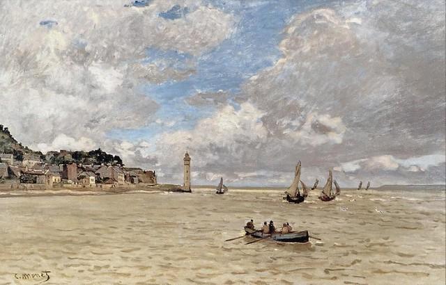 Le Phare de l'Hospice (C Monet - W 38)