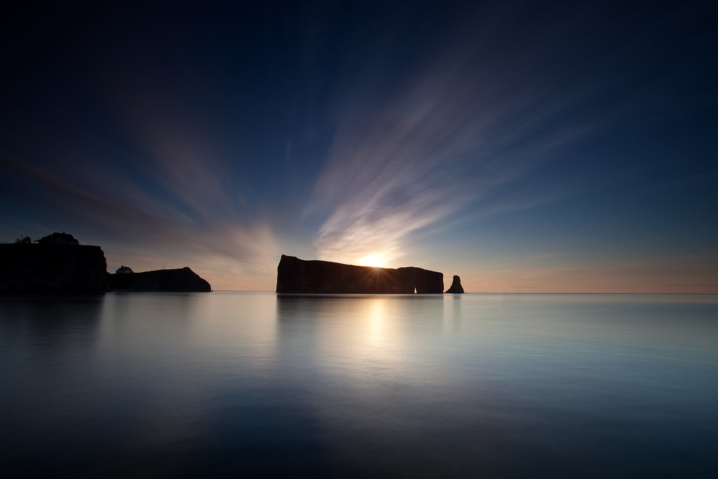 First ray of light by Dan. D.