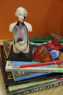 anatomy study book stack | by jimmiehomeschoolmom