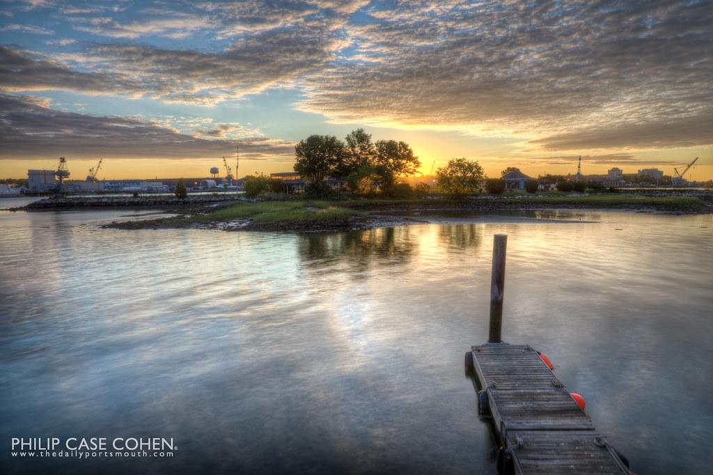 Lonely Pier by Philip Case Cohen