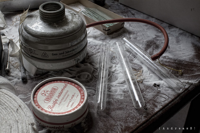 Leftover medical equipment