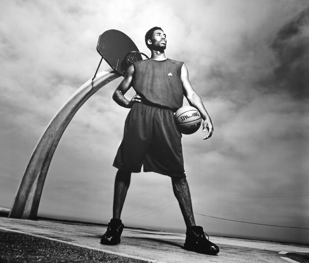 In Dear Basketball, Kobe Bryant narrates how he went from an impassioned basketball-loving child to a professional athlete. Source: Flickr