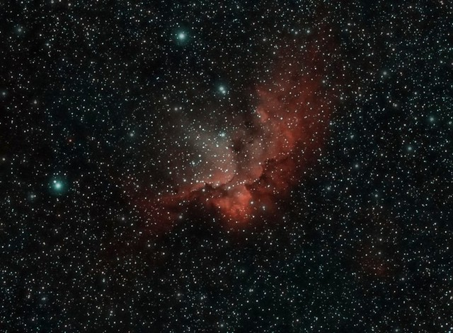 NGC 7380 - Wizard Nebula *Published in Sky at night Magazine cover CD Feb 2011*