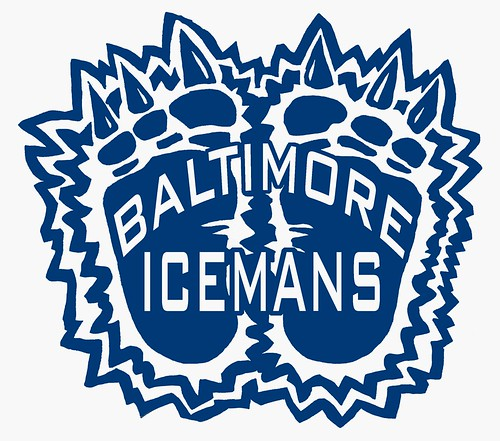 Baltimore Icemen Alternate Logo | by Mike Riley