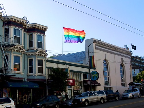 Ranbow Flag Castro District San Francisco 1