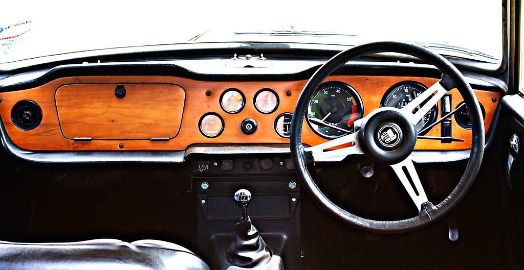1971 Triumph Tr6 Dashboard Phil Simpson Flickr