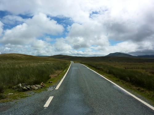 Empty Road I, Snowdonia (16/07/2010)