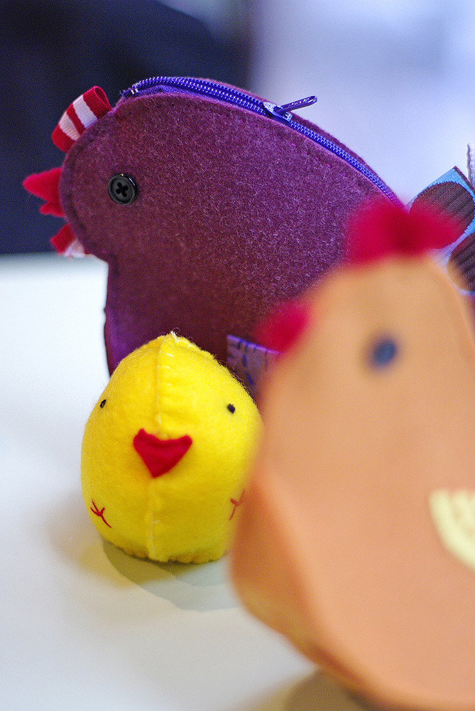 Nugget Chicken accessory purse | | Easter Sewing Projects To Make The Season Festive! | easter sewing ideas