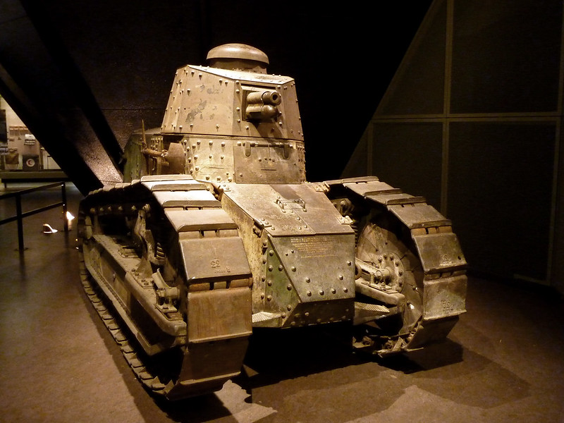 Renault FT17 Tank at National World War I Museum