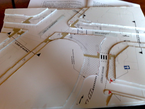 How cool is this? Tactile plans for discussing road improvements with visually impaired community. | by nilexuk