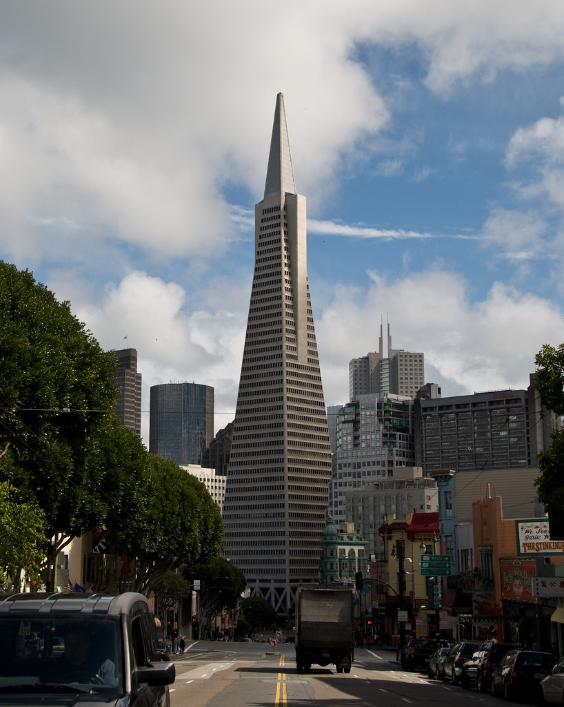 Transamerica Pyramid | The Transamerica Pyramid is the ...