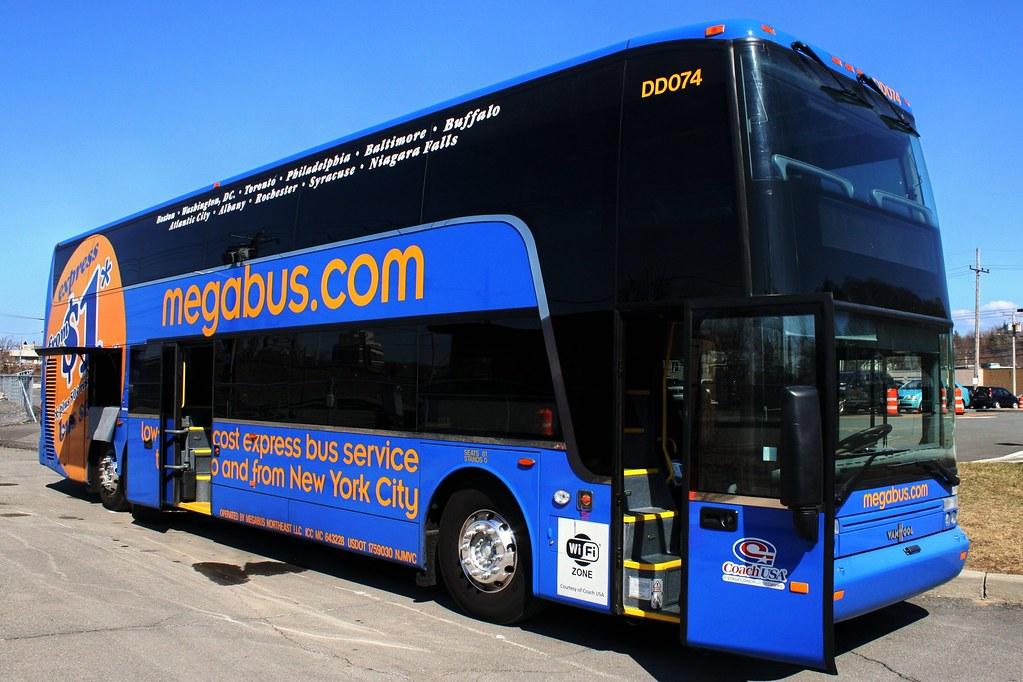 Megabus Bus Photos Albany NY to Penn Station NYC www photo… | Flickr