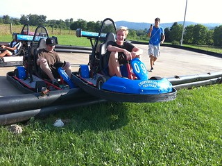 Cole at a Cooperstown NY Go-Kart track | by thane