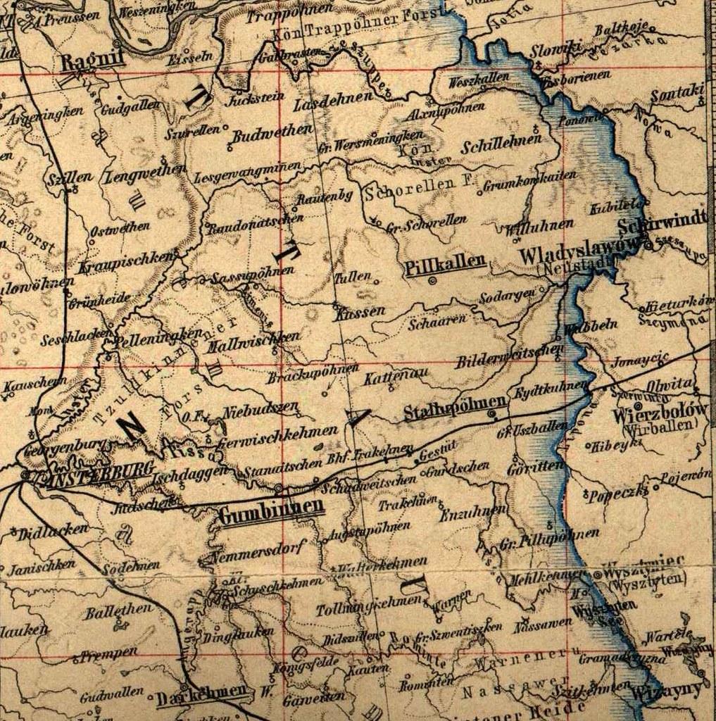 Karte Ostpreußen.013 Karte Nordöstliches Ostpreußen übersichtskarte Nordö Flickr