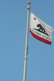 20100729-122618 California State Flag, Napa | by DruhScoff