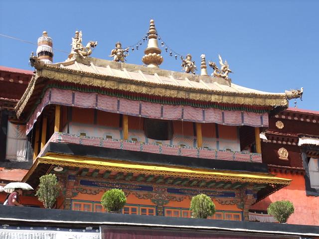La cour intérieure du Jokhang-1