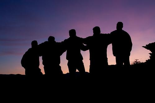 sunset sky color silhouette dvd montana nye 2009