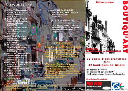 Gisors Boutiqu'Art 2010 page 2 | by Pleinph'Art