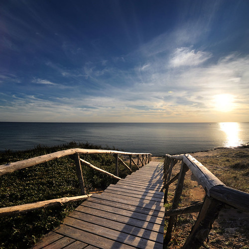 Stairway To The Sea | Vertorama | by Any.colour.you.like