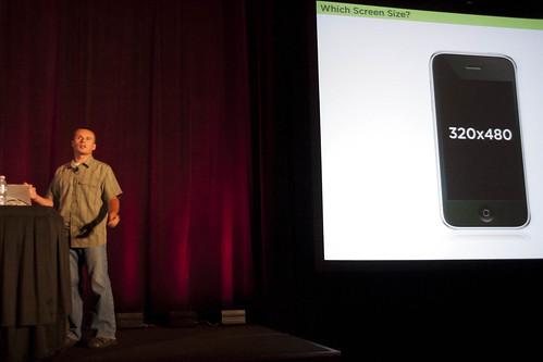 Luke Wroblewski Speaking at An Event Apart Minneapolis 2010   by SuperPope