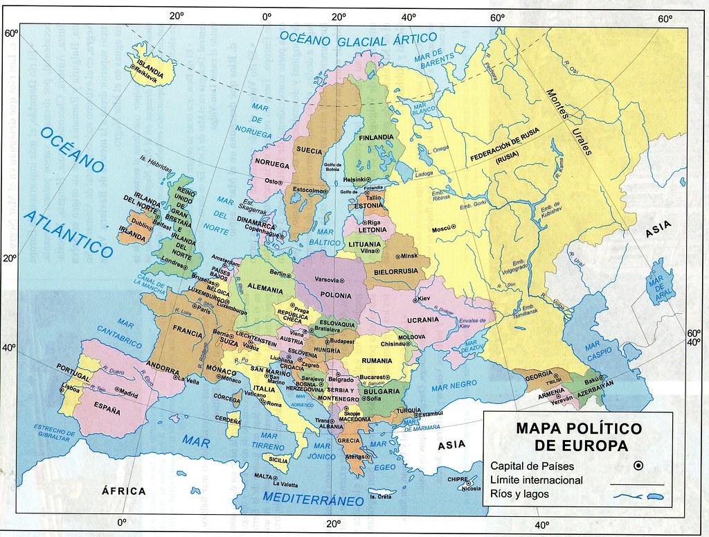 Mapa Polític D Europa.Mapa Politico De Europa Econciencia Peru1 Flickr