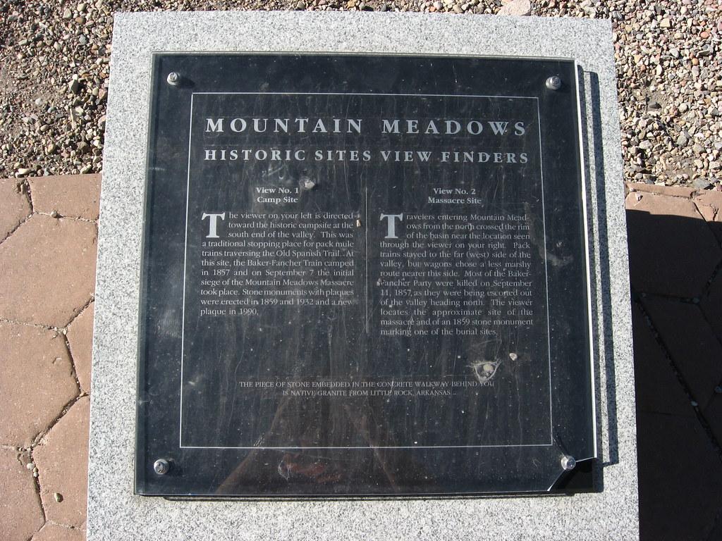 Mountain Meadows Overlook, Utah (7)   The Mountain Meadows ...