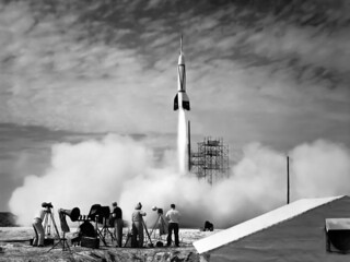 Rocket launch | by Caroline Davis2010