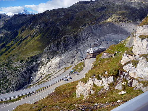 View of Rhone Glacier (source of the Rhone) | by will_cyclist