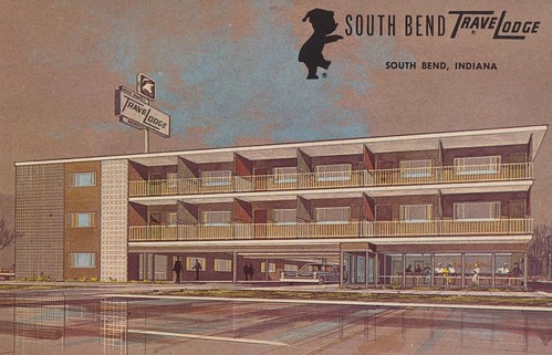 TraveLodge - South Bend, Indiana | by The Cardboard America Archives