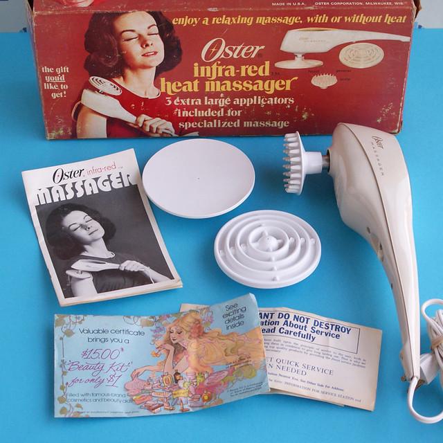 Vintage Oster Infra-Red Massager