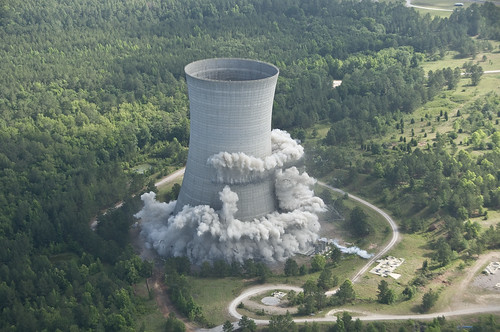 Implosion of SRS K Cooling Tower | by Savannah River Site