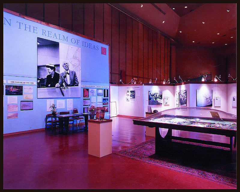 Frank Lloyd Exhibit, Marin Civic Center