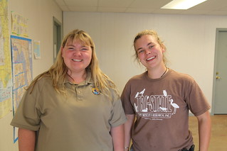 USFWS Wildlife Inspector and IBRRC leader at Pensacola Oiled Bird Rehab Center