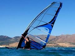 Posición windsurf