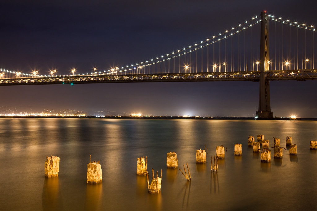 Bay Bridge | San Francisco by Philip Case Cohen